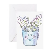 Happy Bucket Greeting Card