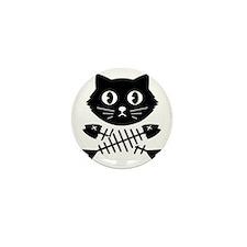 The Pirate Cat Mini Button