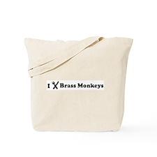 I Eat Brass Monkeys Tote Bag