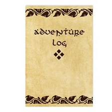 Adventure Log Postcards (Package of 8)