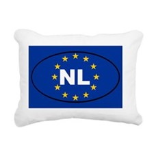 Netherlands NL European  Rectangular Canvas Pillow