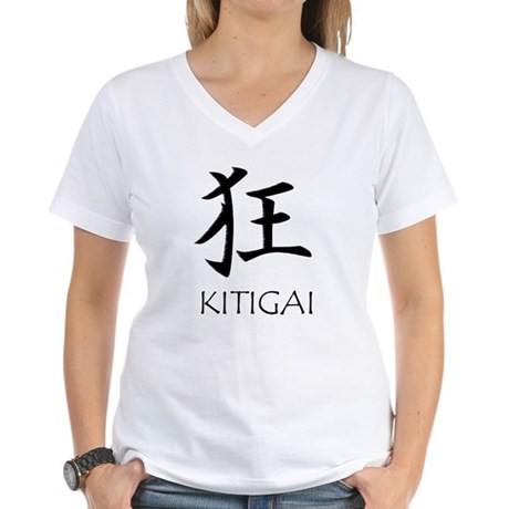 Kitigai Women's V-Neck T-Shirt