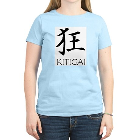 Kitigai Women's Light Yellow T-Shirt