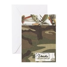 Camo2 Greeting Cards (Pk of 10)
