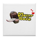 Flavor of Love Tile Coaster