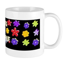 Hug a Hippie DARK BUMP Mug