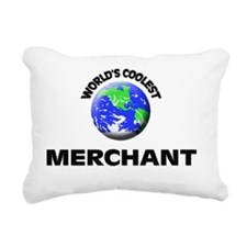 World's Coolest Merchant Rectangular Canvas Pillow