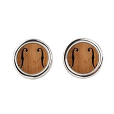 f-hole-713-BUT Cufflinks