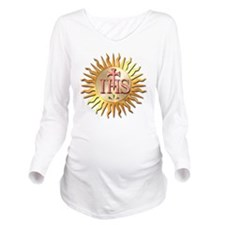 Jesuits Seal Long Sleeve Maternity T-Shirt