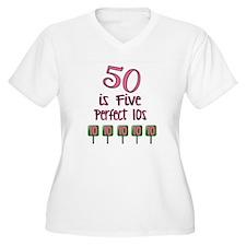 50 is Five Perfec T-Shirt