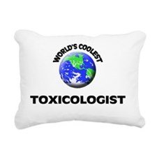 World's Coolest Toxicolo Rectangular Canvas Pillow