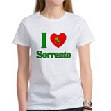 i Love Sorrento Italy Tee