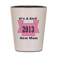 2013 Mom of Girl Shot Glass