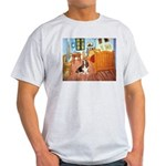 Van Gogh's Room & Basset Light T-Shirt