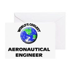 World's Coolest Aeronautical Enginee Greeting Card