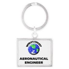 World's Coolest Aeronautical En Landscape Keychain