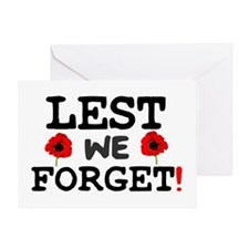 LEST WE FORGET! Greeting Card