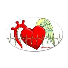 Heart Surgery Survivor Wall Decal