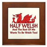 ...Half Welsh... Framed Tile