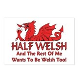 ...Half Welsh... Postcards (Package of 8)