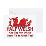 ...Half Welsh... Note Cards (Pk of 10)
