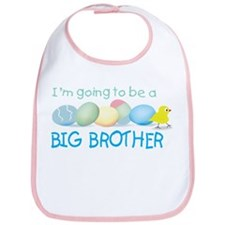 front only easter egg brother Bib
