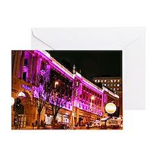 Leeds at night Greeting Card