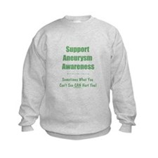 Support Aneurysm Awareness Sweatshirt