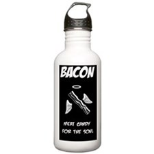 Bacon is Soul Candy Water Bottle