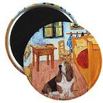 Van Gogh's Room & Basset Magnet