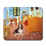 Van Gogh's Room & Basset Mousepad