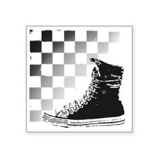 "converse Square Sticker 3"" x 3"""