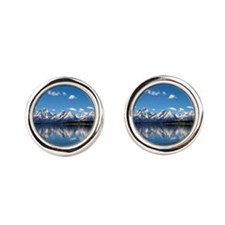 GRAND TETON - JACKSON LAKE Cufflinks