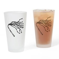 Cat O Nine Tails Drinking Glass