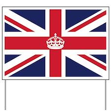 Royal British Flag Yard Sign