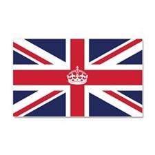 Royal British Flag Car Magnet 20 x 12