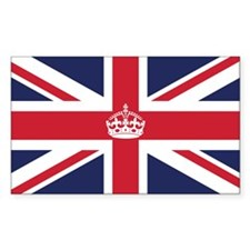 Royal British Flag Decal