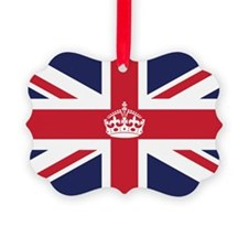 Royal British Flag Ornament
