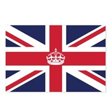 Royal British Flag Postcards (Package of 8)