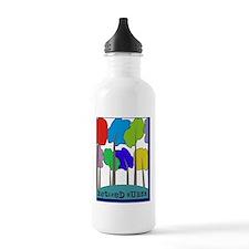 Retired Nurse Water Bottle