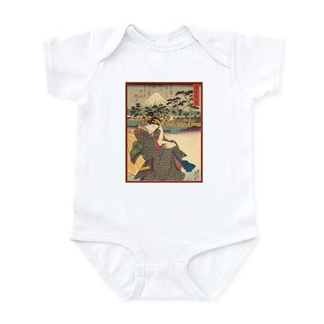 Japanese print Infant Bodysuit