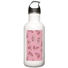 Bicicles_Pink_Large Water Bottle