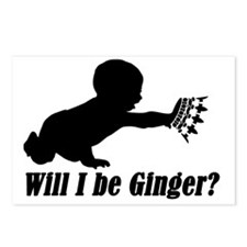 Will I be Ginger? Postcards (Package of 8)
