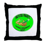MK/Ultra Project Throw Pillow