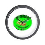 MK/Ultra Project Wall Clock