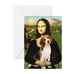 Mona's Beagle #1 Greeting Cards (Pk of 10)