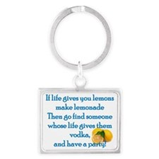 Life Gives You Lemons... Landscape Keychain
