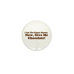 Get Chocolate with this Mini Button (100 pack)