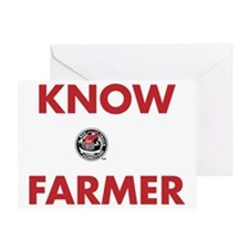 Know Your Farmer - Reversed Greeting Card