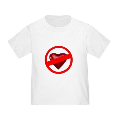 No Love Toddler T-Shirt